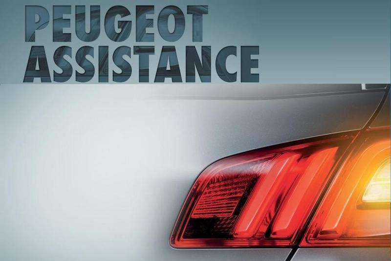 servicio de asistencia en carretera Peugeot